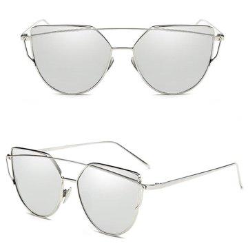 Okulary szyk srebro